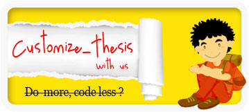 customize thesis theme thecreatology Hire TheCreatology