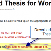 How to safely upgrade to latest version Thesis 1.8 ?