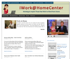 I Work At Home Center