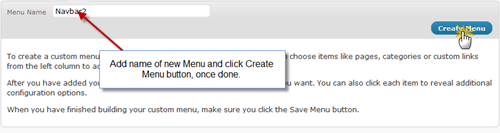 step1-Multiple Navigation menus using WordPress