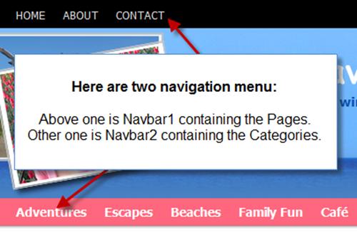 step3-Multiple Navigation menus using WordPress