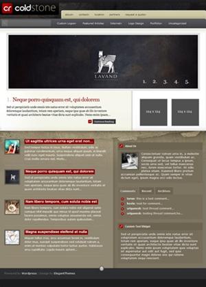 ColdStone 3-Post Layout Unique WordPress Theme