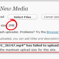 How to increase upload media file size limit in WordPress