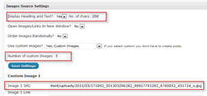 Step2-3-Configure Featured content slider in Thesis Theme