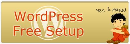 Free-WordPress-Setup