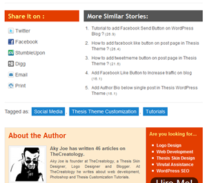 TheCreatology Post Styling on WordPress