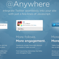 How to add Twitter @Anywhere Hovercard on WordPress Blog ?