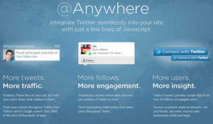 anywhere twitter hovercard for wordpress