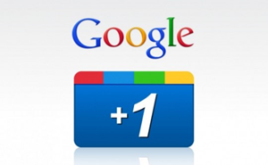 google plus one button update