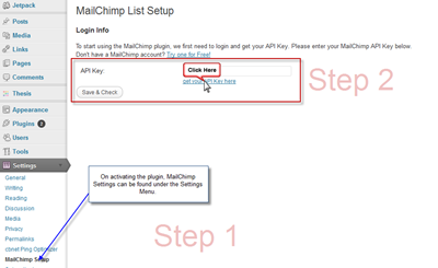 MailChimp-Settings-Plugin