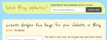 Slim Subscription Box TheCreatology