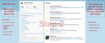 Create Twitter New Layout-Step2
