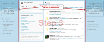 Create Twitter New Layout-Step3