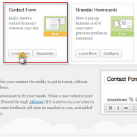 New Contact Form Feature in Jetpack Plugin Update