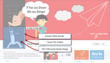 Facebook Avatar Image Sizes 450x260 Design a Creative Facebook Business Cover page with Exact Dimensions [Updated]