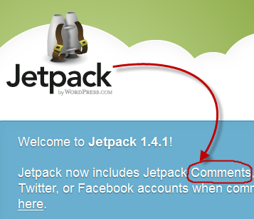 JetPack Plugin Update for WordPress