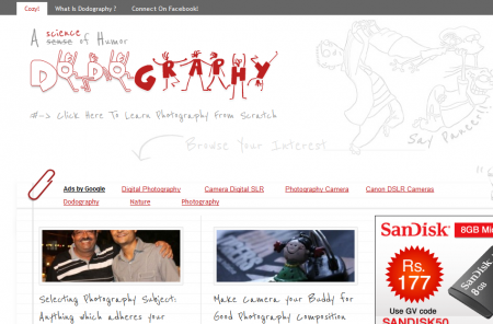 Cool Website Header Dodography