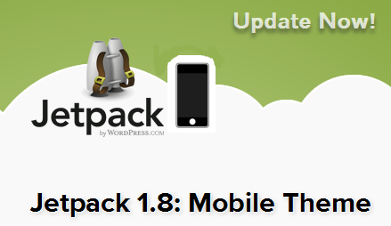 Jetpack PLugin Mobile Theme Update Now
