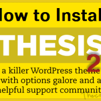 Hands on Thesis 2: How to Get Started with New Thesis Theme 2.0?