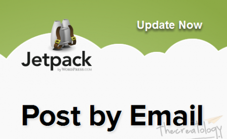 Jetpack 2 Post by Email Feature