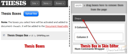 Thesis Amazing Disqus Comment Box 450x191 Hands on Thesis 2: Head Editor, Skin Editor, Boxes & Packages