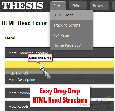 Thesis html Head Editor Hands on Thesis 2: Head Editor, Skin Editor, Boxes & Packages