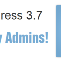 WordPress 3.7 Brings Auto Update Feature Just Like Smartphones