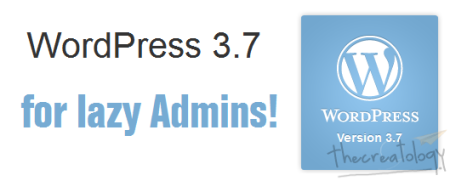 WordPress 3.7 with Auto Update Feature