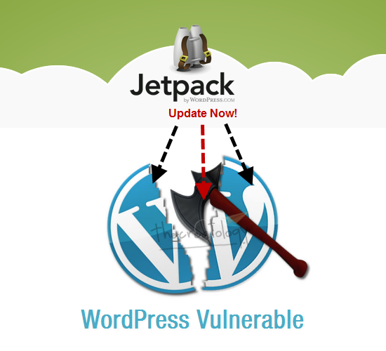 WordPress Vulnerable Jetpack Plugin Update